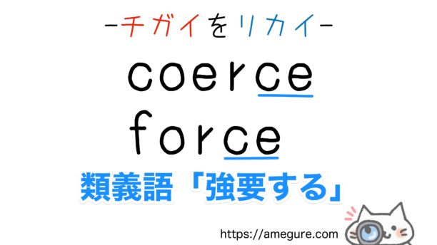 coarse-coerce違い
